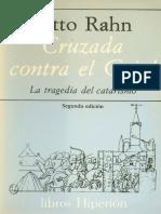Otto Rahn - Cruzada contra el Grial. La tragedia del Catarismo.pdf