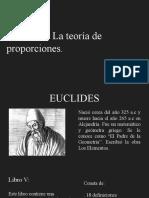 El Libro v- La Teoría de Proporciones.