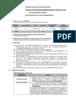 CONVOCATORIA PARA CONTRATACIÓN ADMINISTRATIVA DE SERVICIOS (CAS)