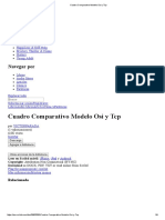 Cuadro Comparativo Modelo Osi y Tcp
