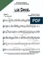 Trumpet 2 Blue Daniel