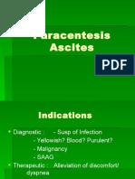 Kuliah Paracentesis Ascites