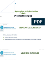 CH4-3 Drilling Hydraulics Optimization Criteria (Practical Example)