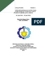 Pengendalian Level pada Deaerator Storage Tank PLTU Unit 4 PT PJB UP Gresik