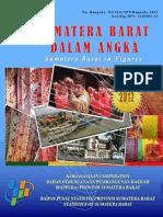 Sumatera Barat Dalam Angka Tahun 2012