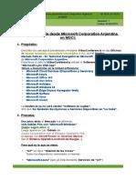 CP-MCA-20150331 - VideoConferencia Desde Microsoft Corporation Argentina en MSCI