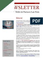 Newsletter T&P N°33 Eng