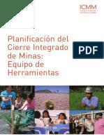 Planificacion Cierre Integrado de Minas