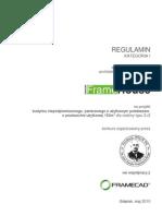 FrameHouse Regulamin Kategoria I Sem VIII