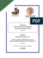 contingencia en bolivia