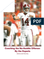 Coaching the No-Huddle Offense