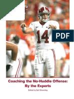Coaching the No-Huddle Offense