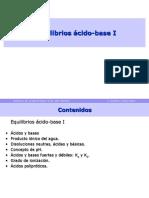 Equilibrios Acido Base I