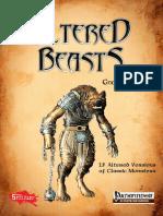Altered Beasts Gnolls Vol I (PF5e)