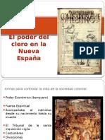 El poder del clero en la Nueva España