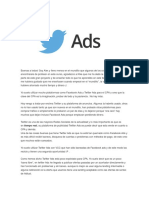 Tutorial Campañas Twitter Ads