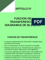 Funcion Transferencia y Diagrama de Bloques