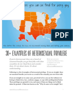 Heterosexual Privilege Checklist