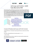 Fundamental Loops and Cut Sets - GATE Study Material in PDF