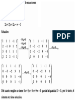 Sistema Ecuaciones Lineales 4x4 - Metodo Gauss 4