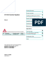 6es7 613 1ca01 0ae3 Simatic c7 613 Panel Siemens Manual