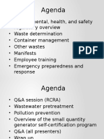 1. Regulatory Overview & Waste Determination