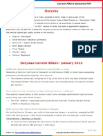 Haryana Current Affairs 2016 (Jan-Nov) by AffairsCloud