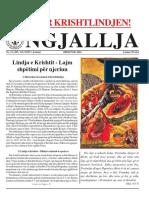 "Gazeta ""Ngjallja"" Dhjetor 2016"