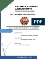 Informe de Durazno