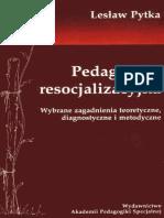 Pytka Lesław - Pedagogika resocjalizacyjna(4).pdf