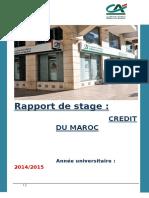 Rapport de Stage Cdm