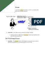 The VLSI Design Process
