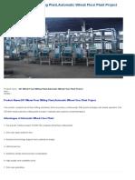 20T Wheat Flour Milling Plant