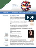 Ipcc Newsletter Winter Issue 2016