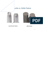 Brittle & Ductile Failure Issues