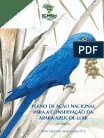 Plano de Ação Nacional para Conservação da Arara-azul-de-lear
