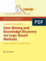 Data Mining and Knowledge Discovery via Logic-Based Methods_ Theory, Algorithms, And Applications [Triantaphyllou 2010-06-28]