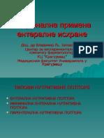 Vladimir Jakovljevic - Racionalna Primena Enteralne Ishrane
