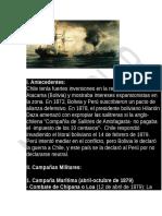 Antedecedente de La Guerra Del Pacifico