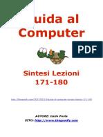 Guida al Computer - Sintesi Lezioni 171-180