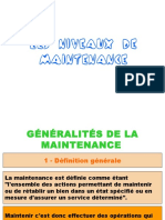Niveau de Maintenance