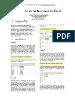 Ejemplos de Las Funciones de Excel