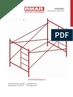 Catalogo FERMAR Andamios