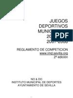REGLAMENTO JJ DD MM 07-08 2ª Edicion