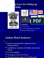 Laws and Rules Hotel Industry