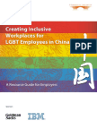 Creating Inclusive Workplaces for LGBT Employees in China
