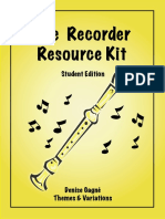 Gagne Denis - The Recorder Resourse Kit Studen
