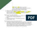 Points About Deloitte