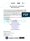 Mean Value Theorems - GATE Study Material in PDF