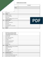 Building Elements Checklist